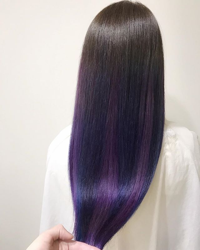 WEBSTA @ och_i - マニックパニックグラデーションカラー担当 落合 淳 定休日 毎週火曜日.第1月曜日TEL 0662440339#マニックパニック #マニパニ #manicpanic #ombre ombrehair #hairstyle #ダブルカラー #黒染め落とし #グラデーションカラー #purple #turquoise #pink #パープル #ターコイズ #ピンク #ヘアスタイル #お洒落 #可愛い #かっこいい #allys #allyshair #och_i