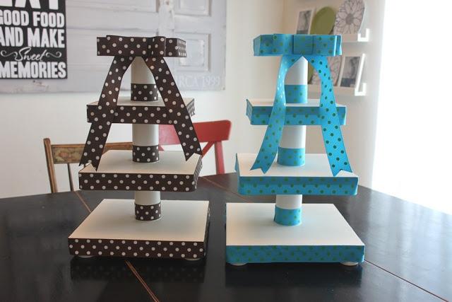 Papaveri at Play: DIY facile Cupcake Stand ~