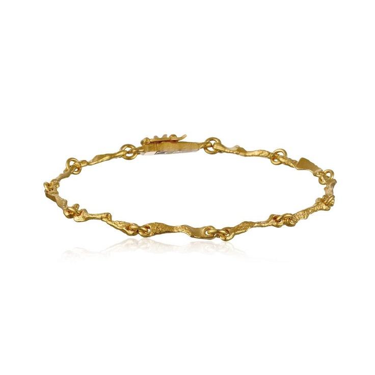 RANNIO  Design Björn Weckström / Gold Bracelet / Lapponia Jewelry / Handmade in Helsinki