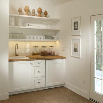 Tiffany Farha Design Office Kitchenette