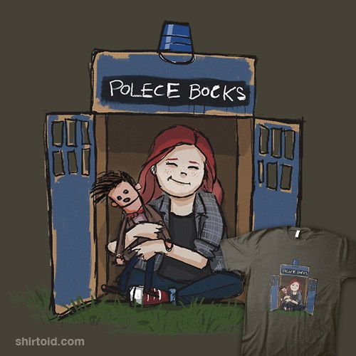 The cutest Doctor Who shirt...my girls are going to go crazy over this!