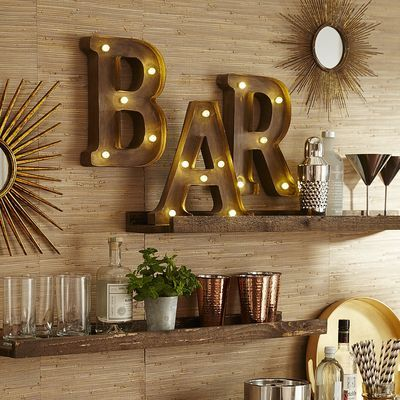 Marquee Wall Letters