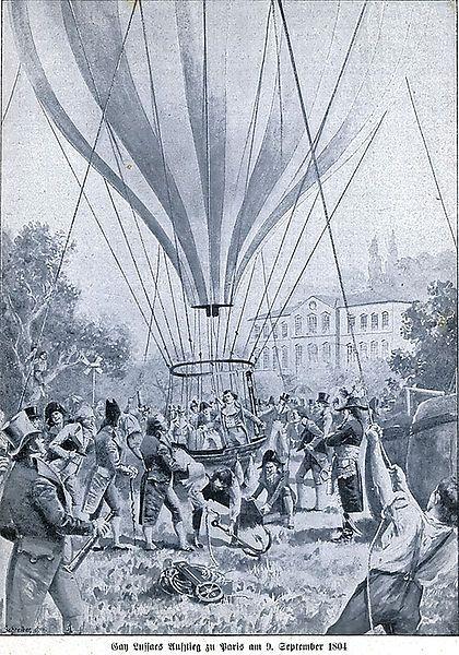 Gay-Lussac en ballon