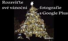 Google Plus pomocí Auto Awesome funkce přidá Vašim vánočním fotografiím třpytky nebo padající vločky. Více na www.justmedia.cz #GooglePlus #socialnisite #justmediablog
