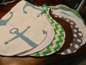 I hear babies are messy. My friend told me if there is something to stock up on, it's burp cloths and bibs. I give to you the Burpy Bib... ...