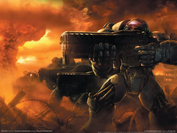starcraft 2 animated wallpaper 1080p character