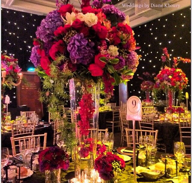 281 best colorful weddings and centerpieces images on pinterest diane khoury wedding australia junglespirit Gallery