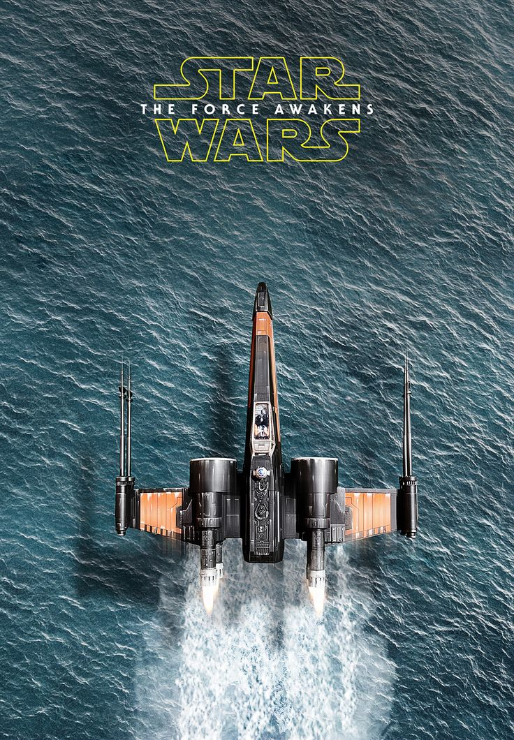 Star Wars Episode VII The Force Awakens Movie Poster