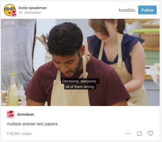 When Tamal perfectly summed up exams. | 19 Things That Will Make British People Laugh For Once In Their Lives