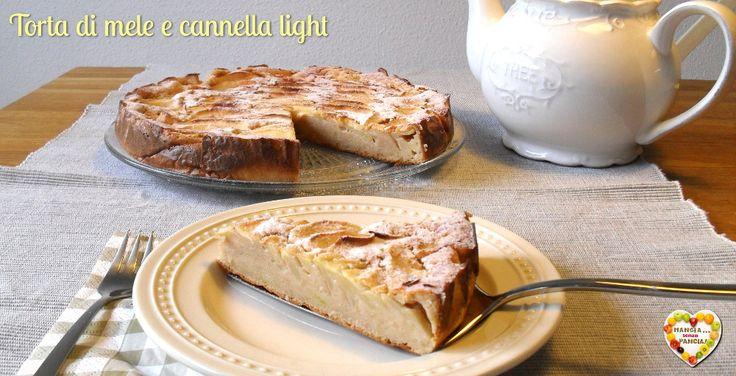 Buona, leggera e versatile, questa torta di mele e cannella è anche facile da preparare in due versioni