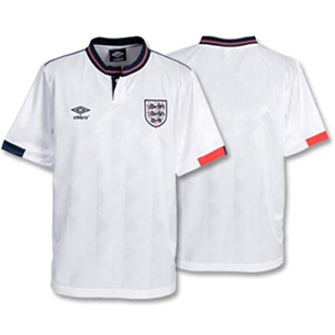 England 1988 European Championships Retro Football Shirt-Toffs