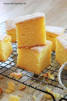 ♥ Witaj w moim kulinarnym świecie ♥: Szybkie ciasto cytrynowe