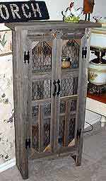 Jelly Cabinet | I have a cabinet similar to this... just need to add chicken wire and then fill with kitchen gear