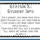This is a package for your Open House night! It includes signs for 5 different stations which are: Station 1: Open House Letter Station 2: Student ...