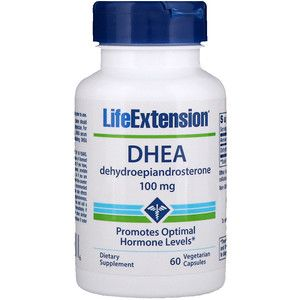 Life Extension Dhea 100 ملغ 60 كبسولات نباتية Iherb Life Extension Supplements Dhea
