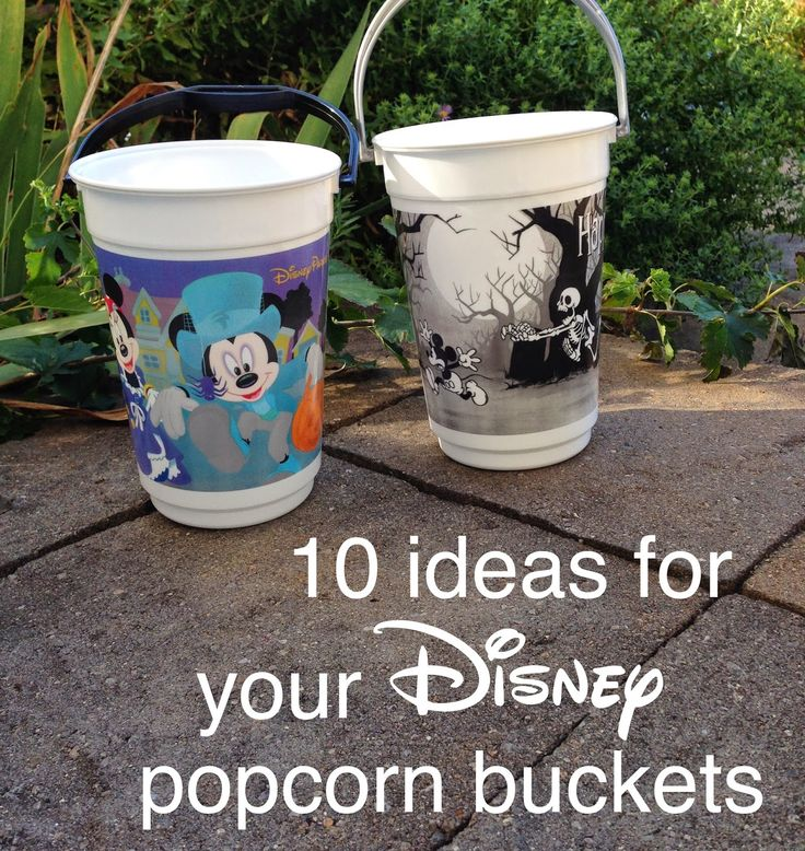 Merryweather's Cottage: DIY Disney Popcorn Bucket Makeover