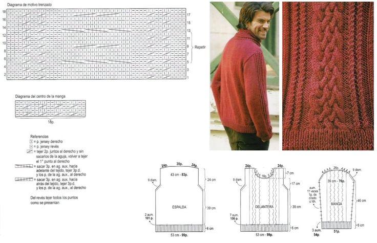 Suéter esquema