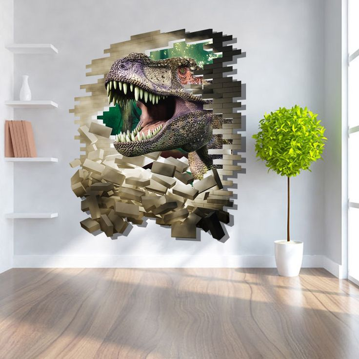 Find More Wall Stickers Information about 3D Wall Stickers Dinosaur Cartoon Floor Stickers for Bedroom Decoration Home Decor Living Room Animals Paper Sticker 60*90cm,High Quality sticker beetle,China stickers corolla Suppliers, Cheap sticker ipad from Handicraftsman on Aliexpress.com