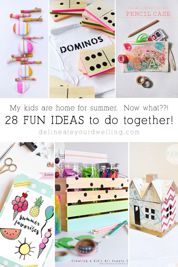 28 Fun And Inexpensive Kid Summer Activity Ideas Delineate Your Dwelling Kids Art Supplies Summer Fun For Kids Summer Activities For Kids