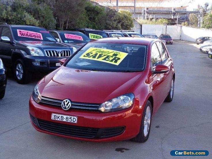 2009 Volkswagen Golf 1K MY10 118 TSI Comfortline Red Automatic 7sp A Hatchback #vwvolkswagen #golf #forsale #australia
