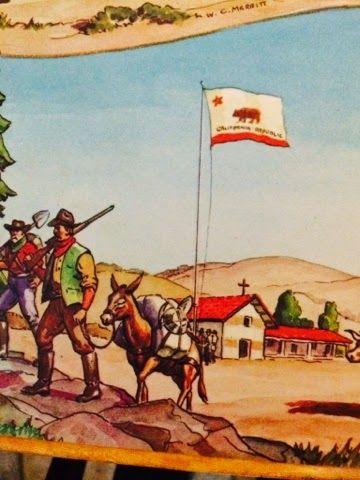 California Bear Flag Book Illustration | Bear Flag Museum