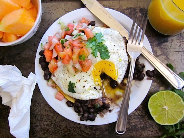 huevos rancheros- One of my all-time favorite #BudgetBytes recipes!