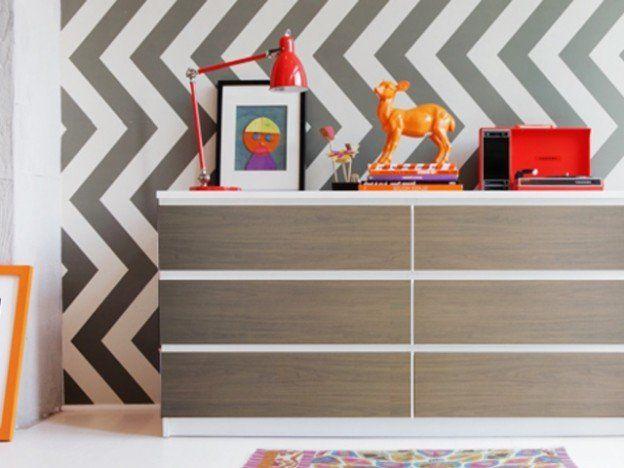 Oltre 25 fantastiche idee su mobili ikea su pinterest - Pellicole adesive per rivestire mobili ...