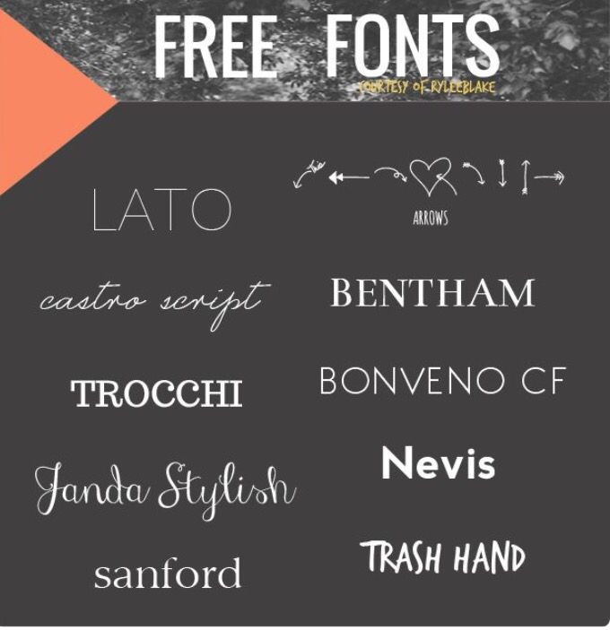 Simply one of those font series you need in your collection. And now you've no excuse not to. They're free.