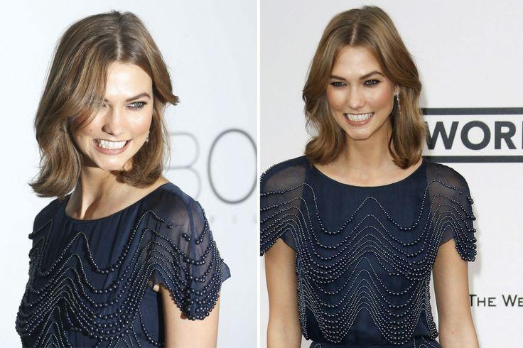 Los peinados que vimos en Cannes  Otra modelo que brilló sobre la alfombra roja fue Karlie Kloss, con su sonrisa y su frescura tan característica. ¡Nos copa ese corte de pelo! Foto:EFE
