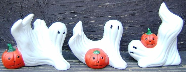 Check out Halloween Ghost Pumpkin Ceramic Set Flambro Three Ghosts with Pumpkins Vintage  http://www.ebay.com/itm/Halloween-Ghost-Pumpkin-Ceramic-Set-Flambro-Three-Ghosts-Pumpkins-Vintage-/161780638050?roken=cUgayN&soutkn=r3EizP via @eBay