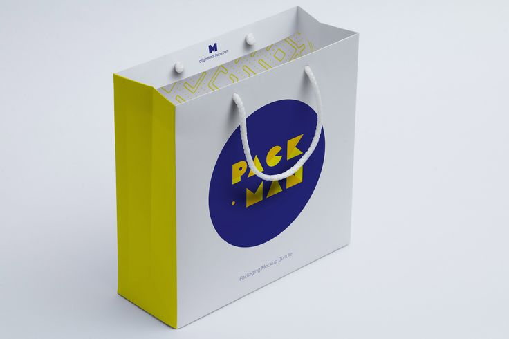 Shopping Bag Mockup 06 by Ktyellow  on @originalmockups