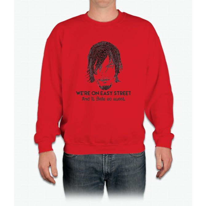 TWD - Daryl: We're On Easy Street Crewneck Sweatshirt