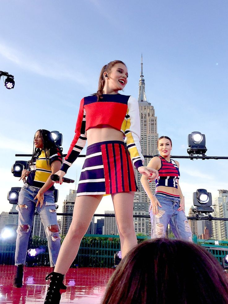 Hailee Steinfeld performing at the Today Show Concert Series in New York City on July 14, 2017