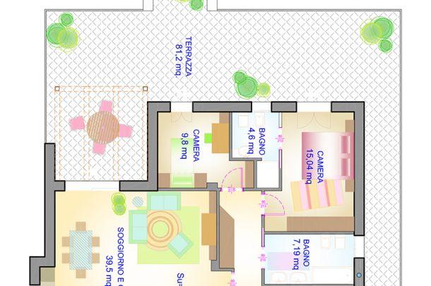 Oltre 25 fantastiche idee su planimetrie dell 39 appartamento for Progetti di chiese e planimetrie