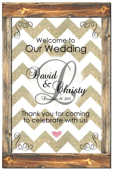 """Wedding Welcome Sign! Poster-size printable is 20""""x30"""". Print and Save! Only $5.00. www.customweddingprintables.com"""