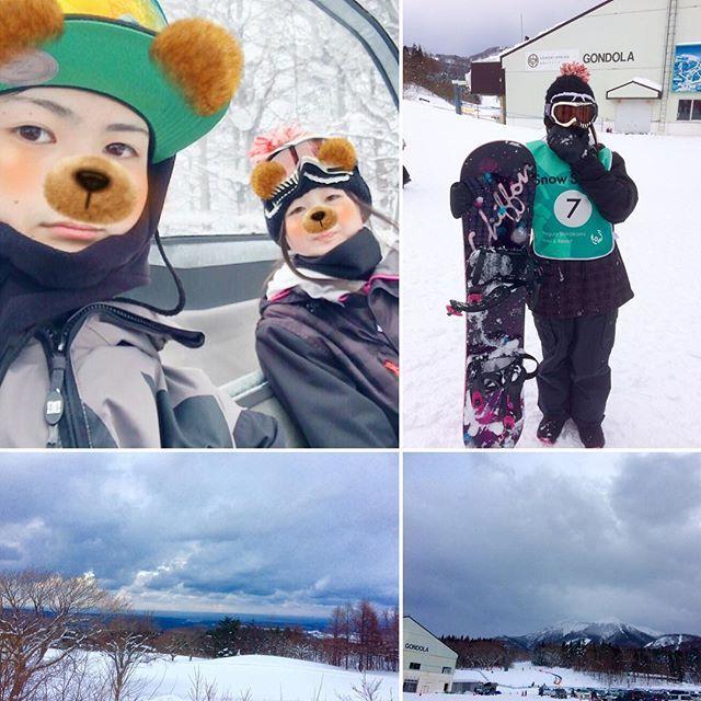 【nokkochoro】さんのInstagramをピンしています。 《昨日は一日中、スキー場 🏂 #子供たち が初めて#スノボ の事前講習を受けて、娘は3級、息子は2級合格しました✨👍 スノボ歴は長いのに今まで一度もスノボを教わった事がなかったので、いい勉強になったと👍 娘は今シーズンまだ2時間しかスノボやってなく、しかも板も買ったばかりなのに3級合格って・・・身体能力が高いのか⁉️息子の方もいきなり2級って・・・👍1級もイケそう⁉️ 娘がこれで面接の時、特技を聞かれたらピアノとスノボと答えれると言っていた😊 検定受けさせて良かった〜😆 ・ ・ ・ #青森県#鯵ヶ沢#スキー場 からの#景色 #海 も見えて👍晴れてたらもっとキレイだろうなぁ〜✨✨✨ #スノーボード #楽しそう  #冬#冬景色#雪#雪山#岩木山》