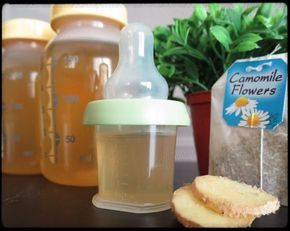 Colic Tea for Baby - Gas Be Gone! - Skinny Foodaholic