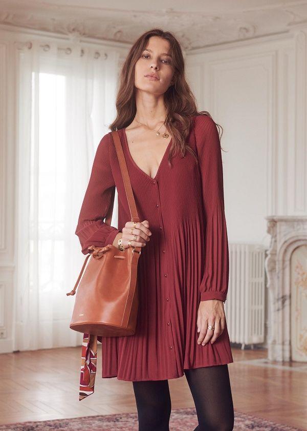 5bf303335ecdde Sézane - Robe Louisette | Autumn fashion | Sezane, Mode et Robe