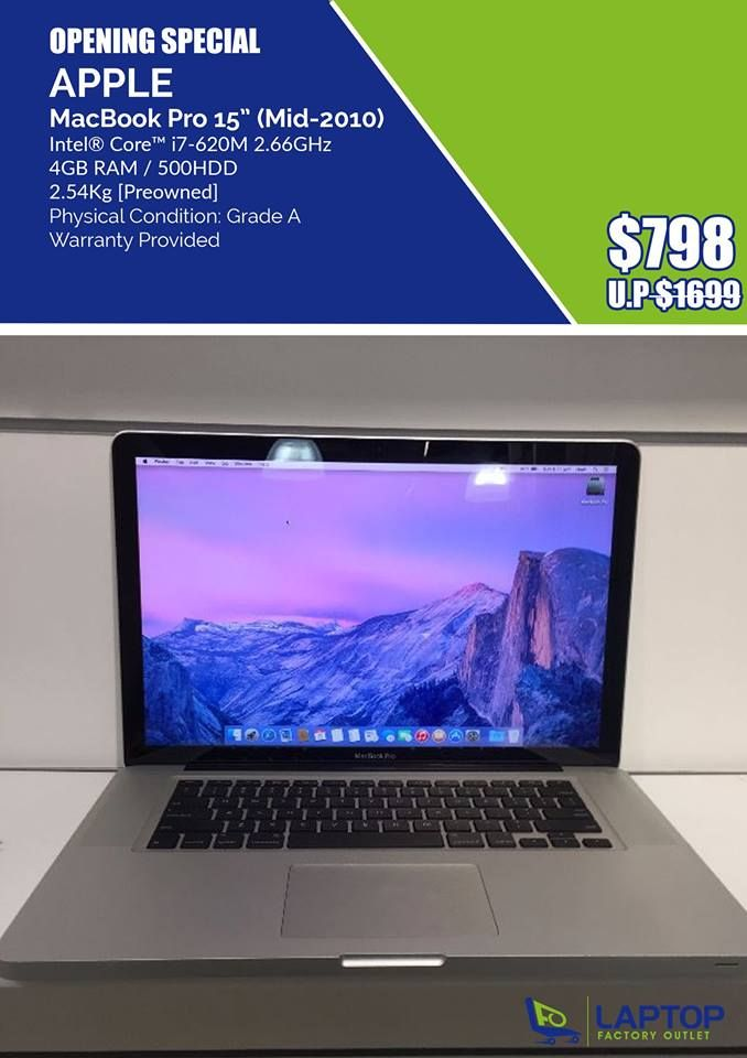 Nice! Pre owned laptop, cheap laptop for sale, laptop deals Singapore
