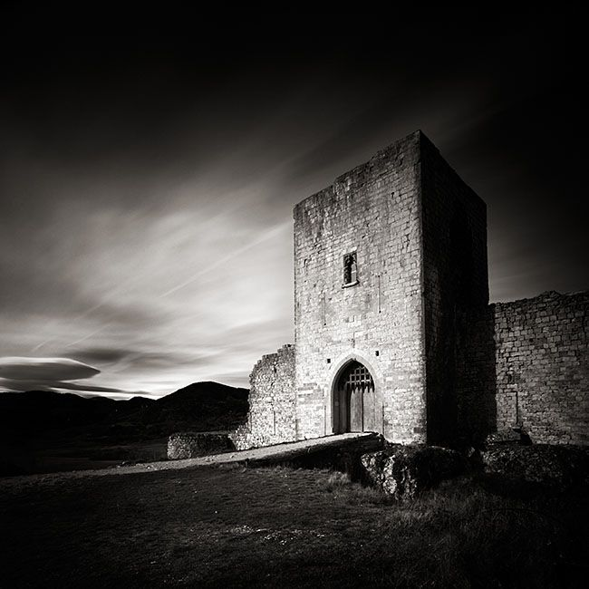 """ALAIN ETCHEPARE Study No. 21 from """"Cathares. In the Memory of Stones.""""  St. Hilaire Abbey, France, 2008."""