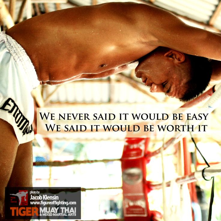 It won't be easy, but we promise it will be worth it. Fight for the life you deserve - the person you want to be - at Tiger Muay Thai & MMA in Thailand. No experience necessary.