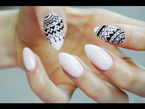Mehendi Nails | Nailart tutorial | Odette Swan