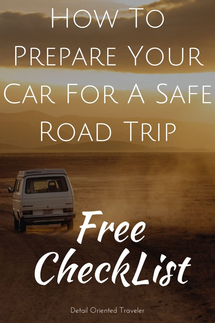 The following is my comprehensive list of what you should have in your vehicle in case of an emergency and what to check on your car before you depart on your next road trip.