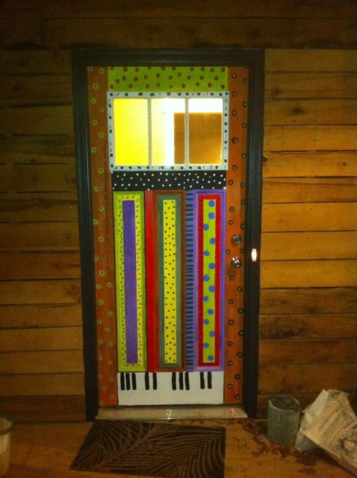 folk art door & 54 best Art door images on Pinterest | Windows French doors and Portal
