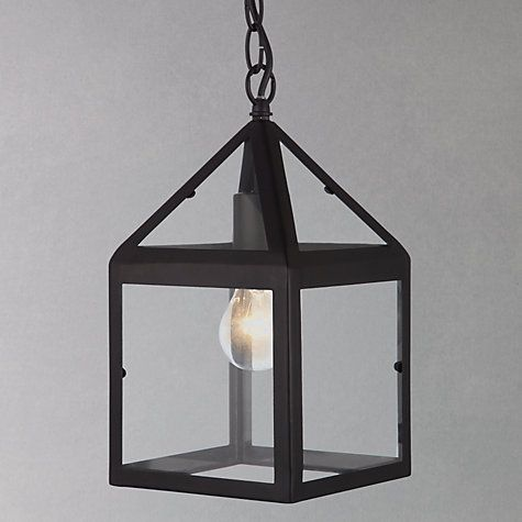 Buy John Lewis Springfield Porch Lantern From Our Garden Outdoor Lighting Range At