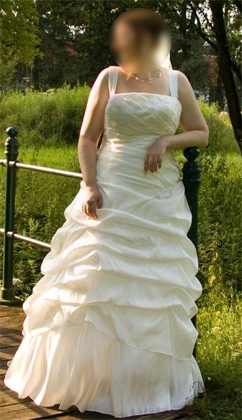 ♥ Traumhaftes Brautkleid in Creme Gr 46 ♥ Ansehen: http://www.brautboerse.de/brautkleid-verkaufen/traumhaftes-brautkleid-in-creme-gr-46/ #Brautkleider #Hochzeit #Wedding