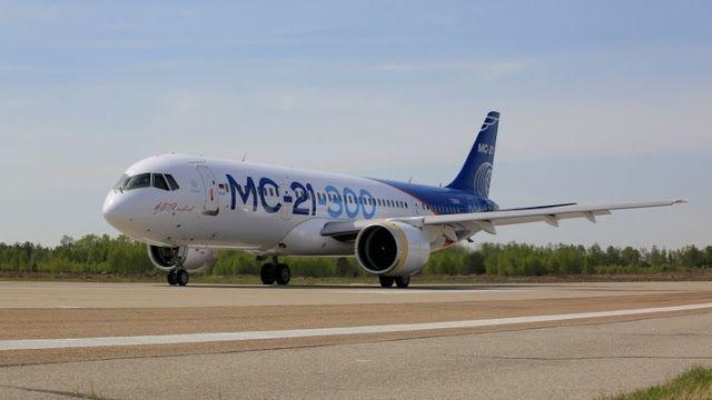 Транспортный блог Saroavto: Самолет МС-21 выполнил рулежки в рамках подготовки...