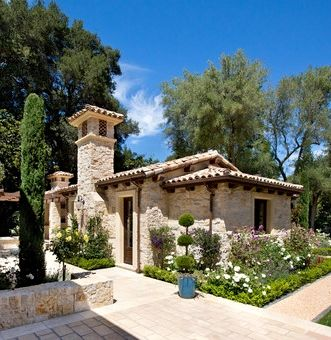 17 best images about casita ideas on pinterest pool for Tuscan home plans with casitas