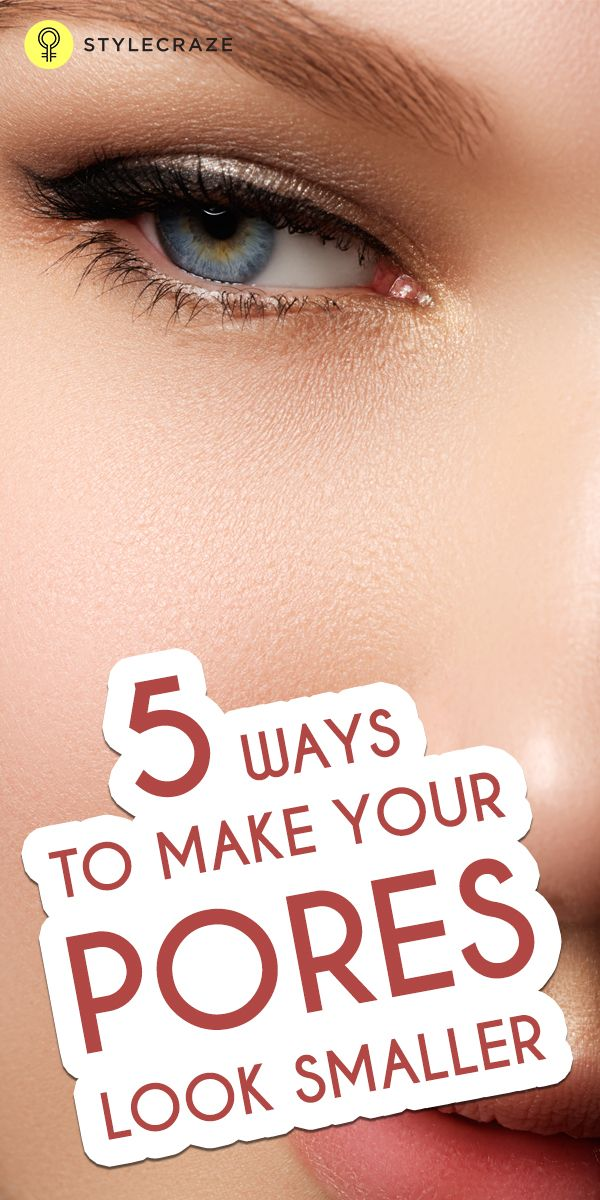 The pore size of the skin is genetically determined and it is not easy to make them appear physically smaller. Here is how to make pores ...
