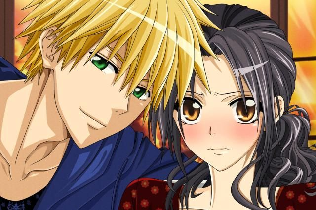 6 Most Romantic Anime Couples: Misaki and Takumi (Maid Sama!)